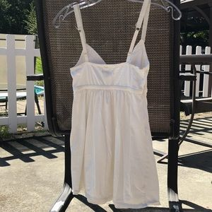 American Eagle Outfitters Tops - Women's AE Cami top ivory adjustable straps XS